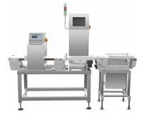 IMC-230L Metal detector and check weigher combo