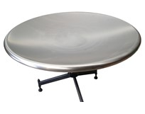 Rotary Accumulation Table (Stainless Steel Dished Top)